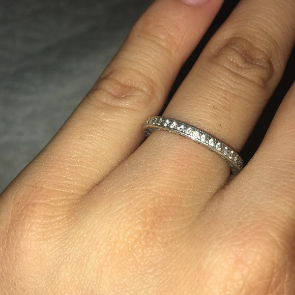 1e1cbfee8 Hearts of PANDORA ring, clear cz. M_5ba1840804e33df2a98a51bd